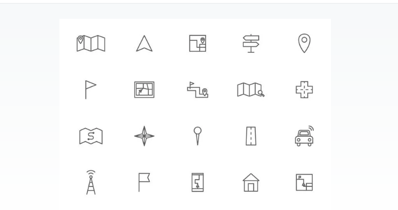 Free Line Vector Icons