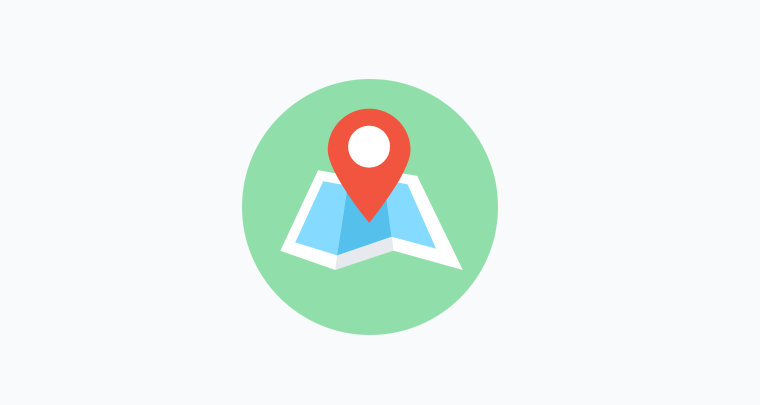 Free Map Icon