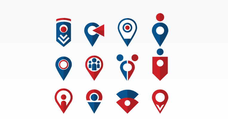 Free Map Pointer Icons
