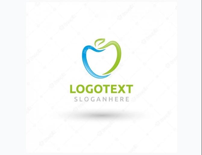 Free Minimal Apple Logo