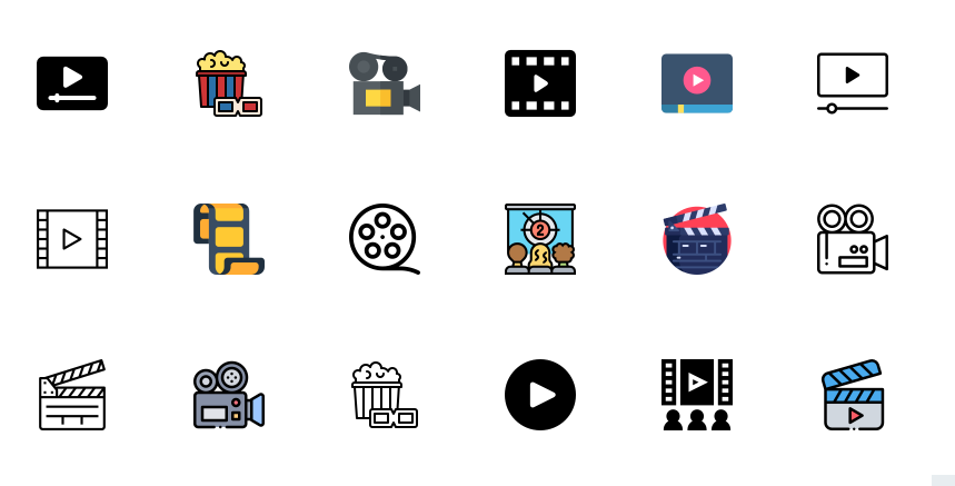 Free Movie Icons Download