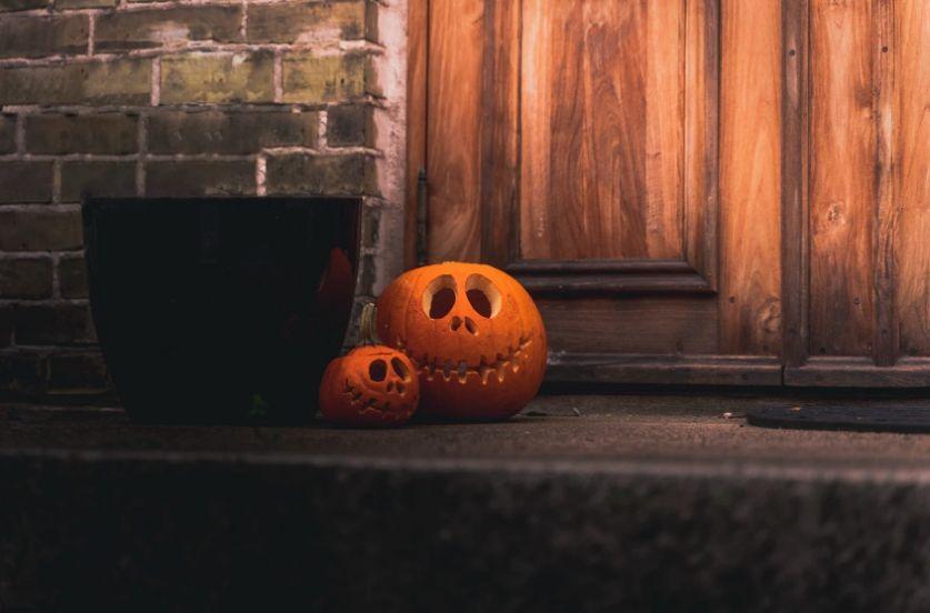 Free Pumpkin on Floor Background