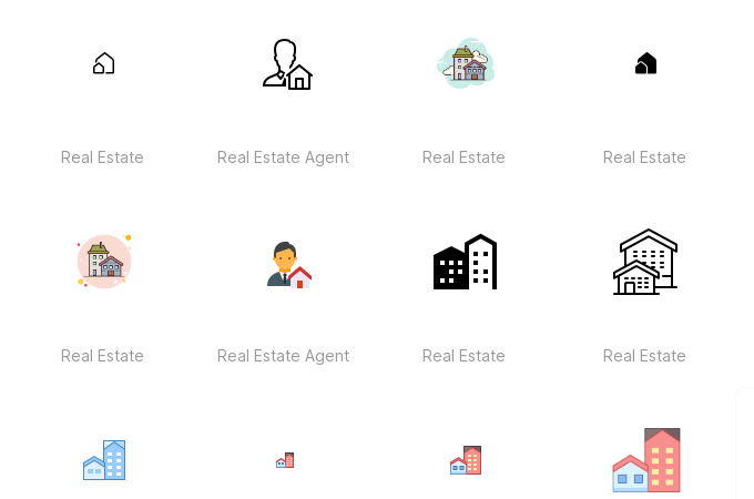 Free Real Estate Agent Icons