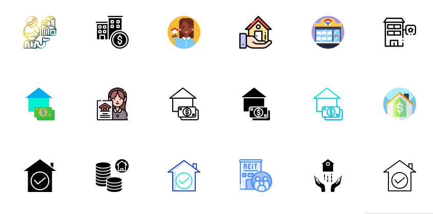Free Real Estate Icons