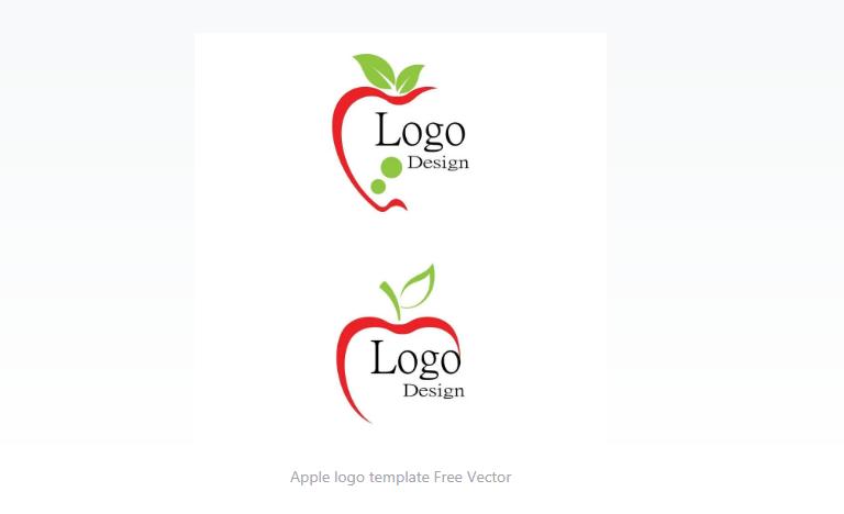 Free Simple Apple Logo