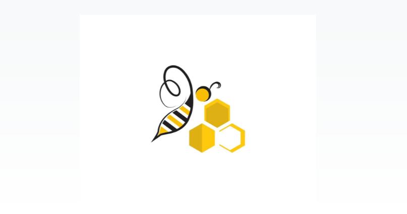 Free Simple Bee Logo