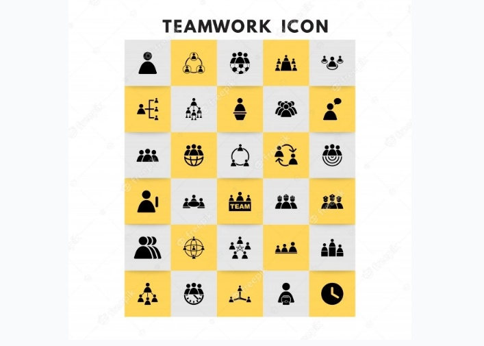 Free Teamwork Icons Set
