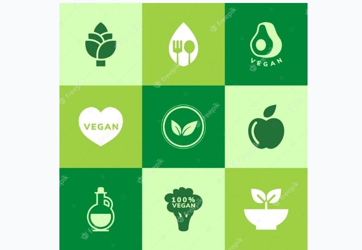 Free Vegan Icons Set