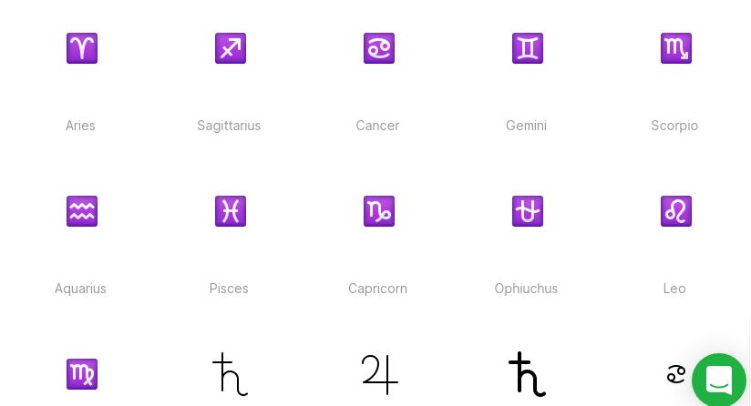 Free Zodiac Signs Illustrations