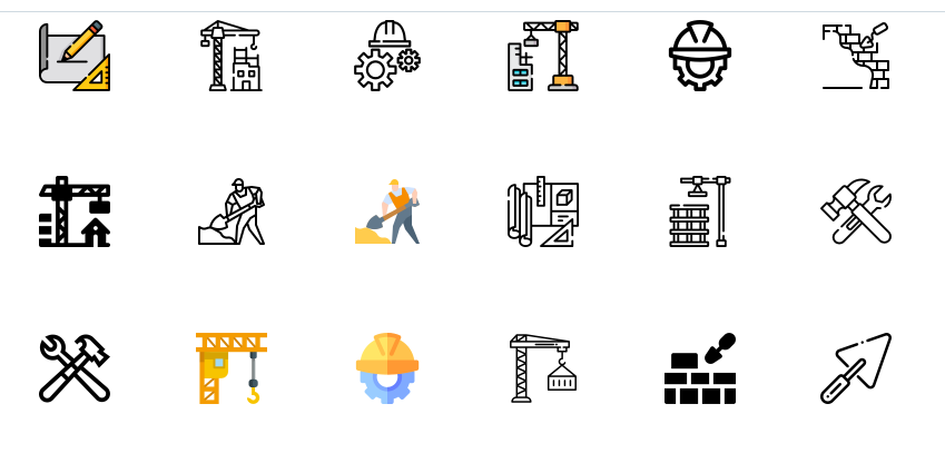 FreeConstruction Icon Set