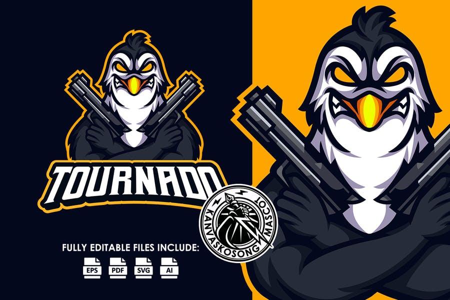 Fully Editable Mascot Logo