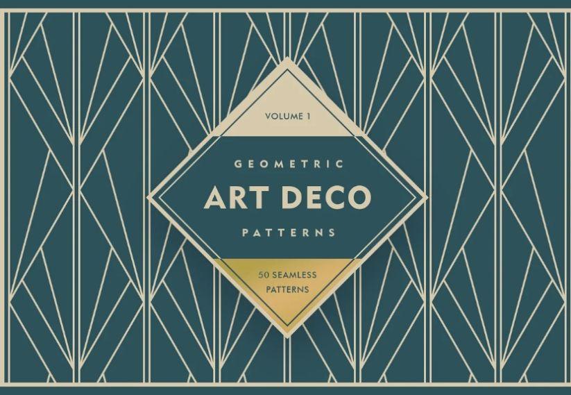 Geometric Art Deco Backgrounds