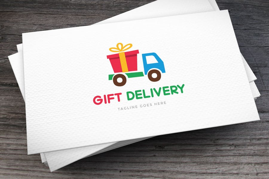 Gift Delivery Logo Designs
