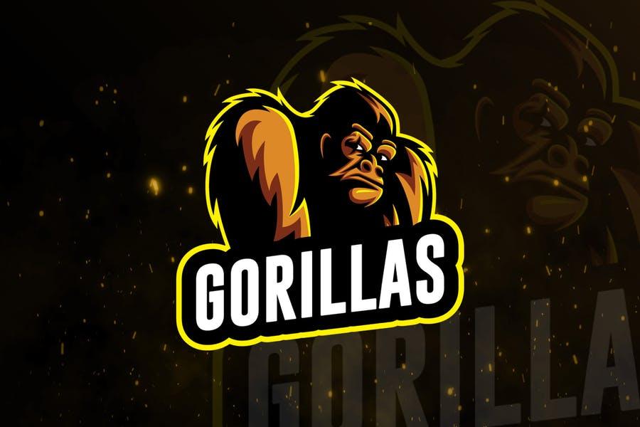 Gorilla Style Branding Identity