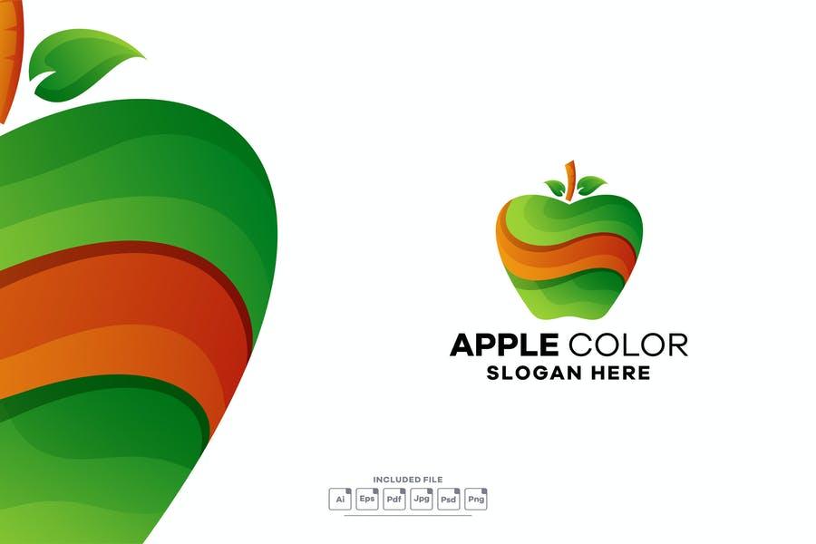 Gradient Fruit Identity Design