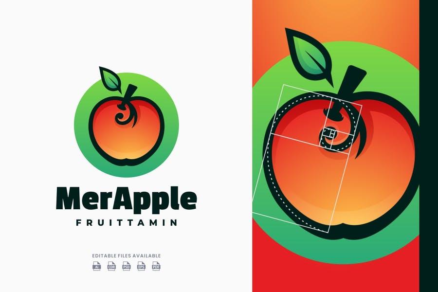 Gradient Style Apple Identity