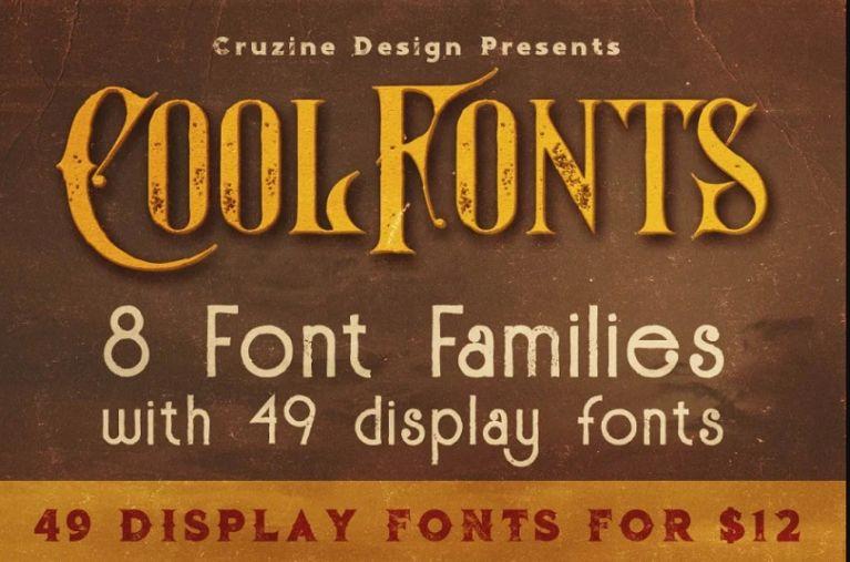 Grunge Style Fonts
