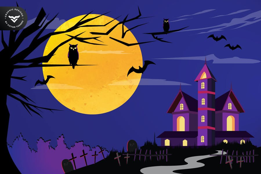 Halloween Party Graphic Designs