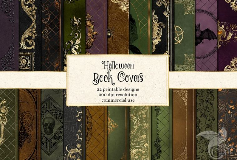 Halloween Style Book Cover Designs