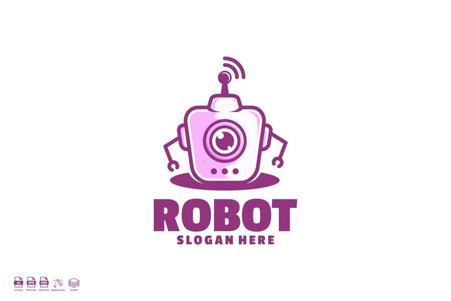 Hand Drawn Robo Identity Design
