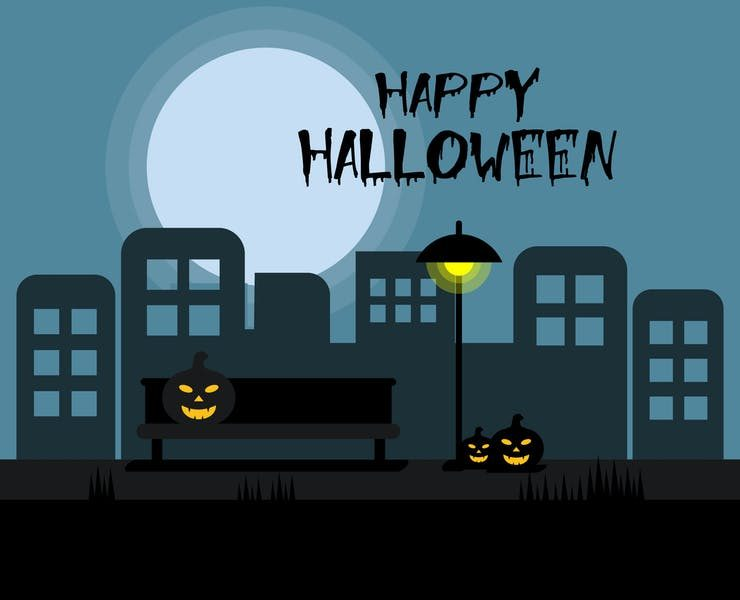 18+ Scary Halloween Backgrounds Download JPG | PNG