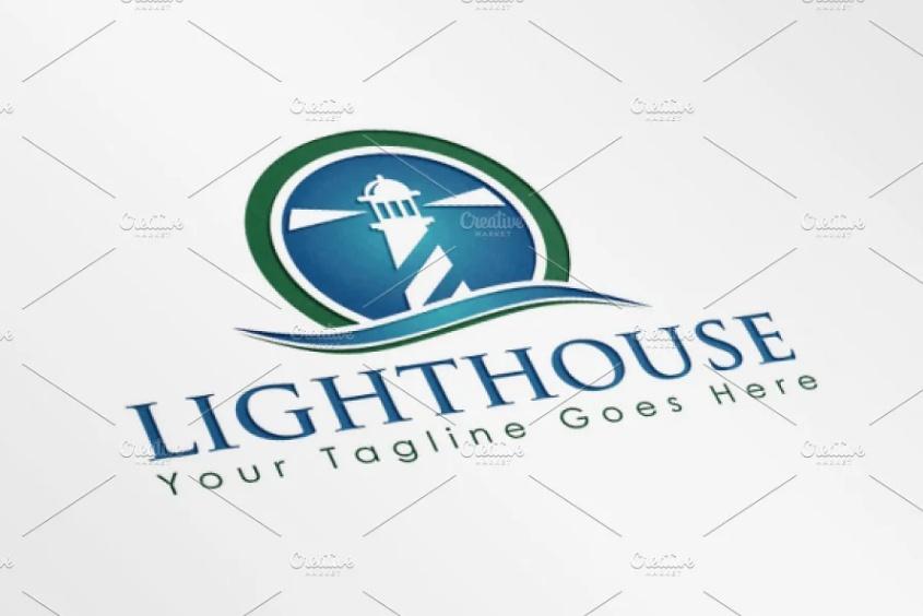 Head Lamp Logo Design
