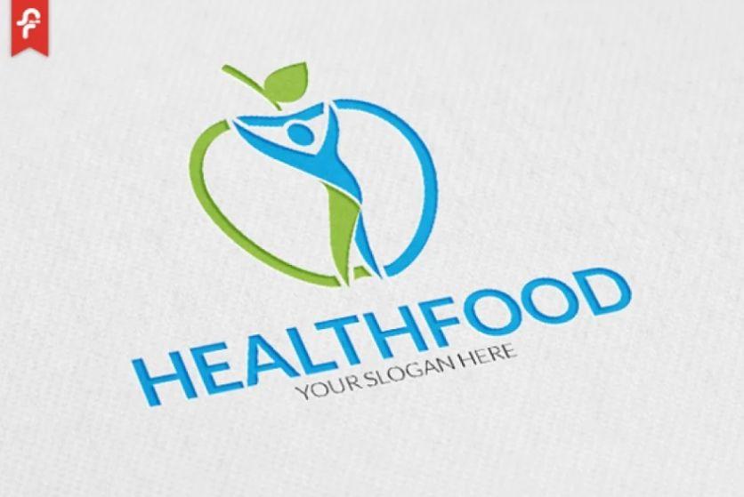 Healthy Food Identity Design