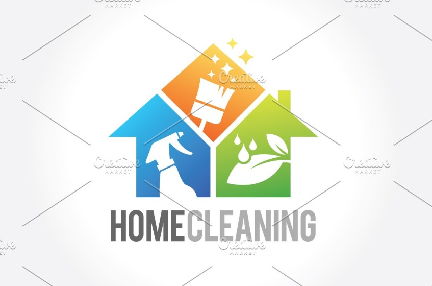 Home Cleaning Logo Designs