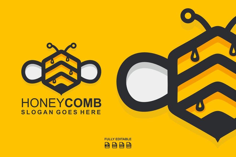 Honey Comb Identity Design