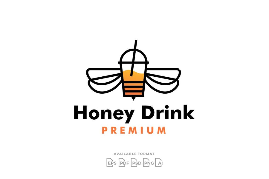 Honey Drink Identity Design