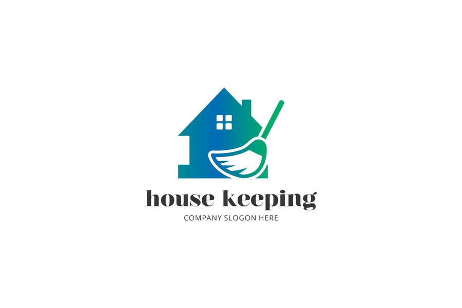House Keepin Logo Design