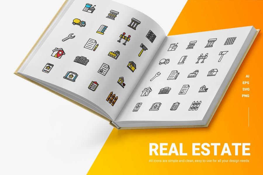 Infographic Poster Icons