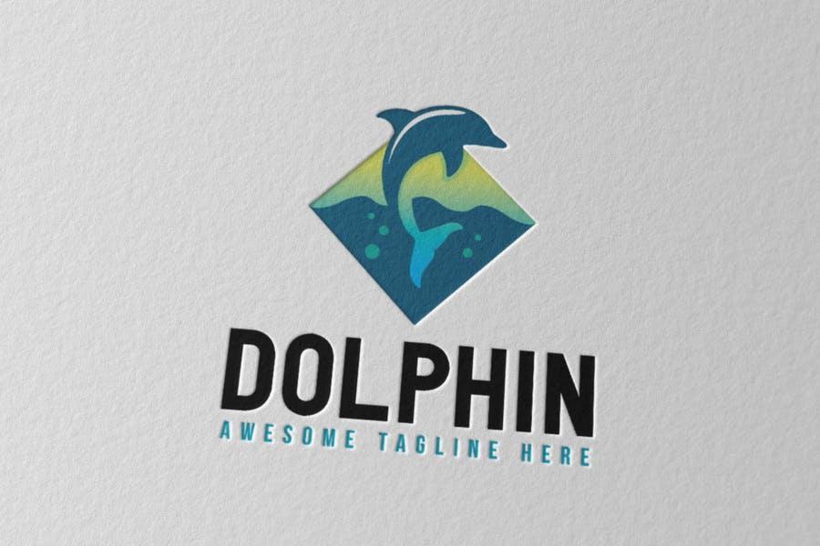 Jumping Dolphin Identity Designs