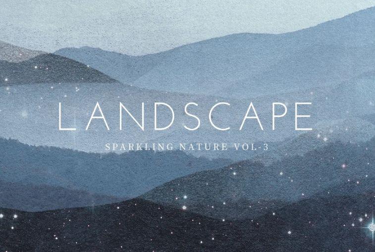 Landscape Sparkling Backgrounds
