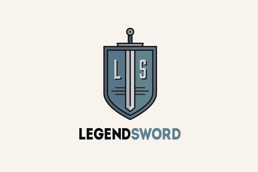 Legend Style Identity Design