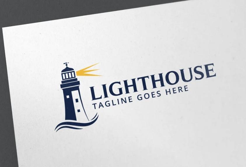 Light Beacon Logo Template