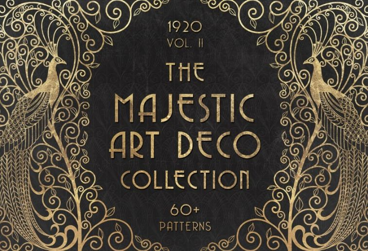 Majestic Art Deco Collection Set