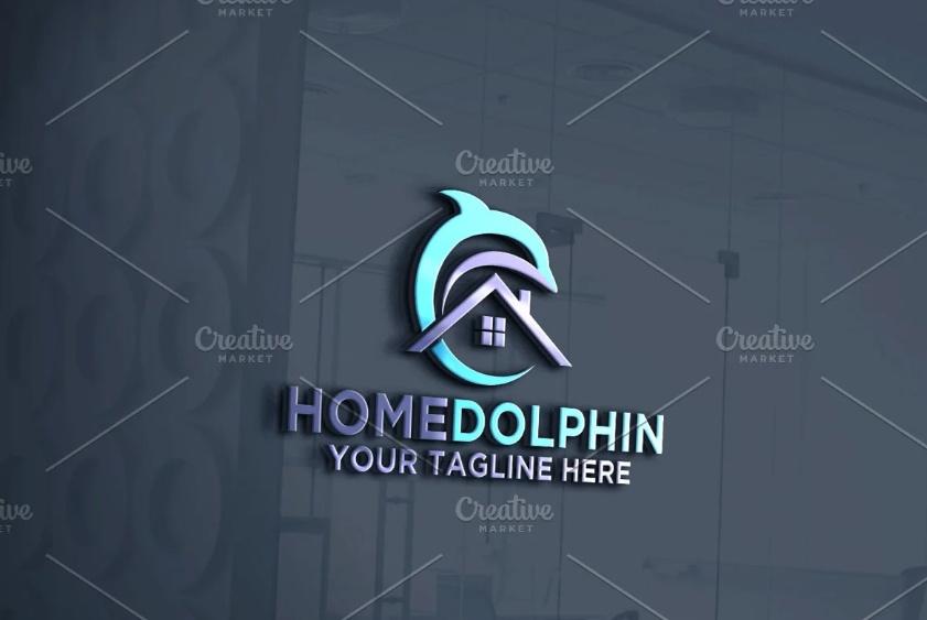 Marine House Logo Designs