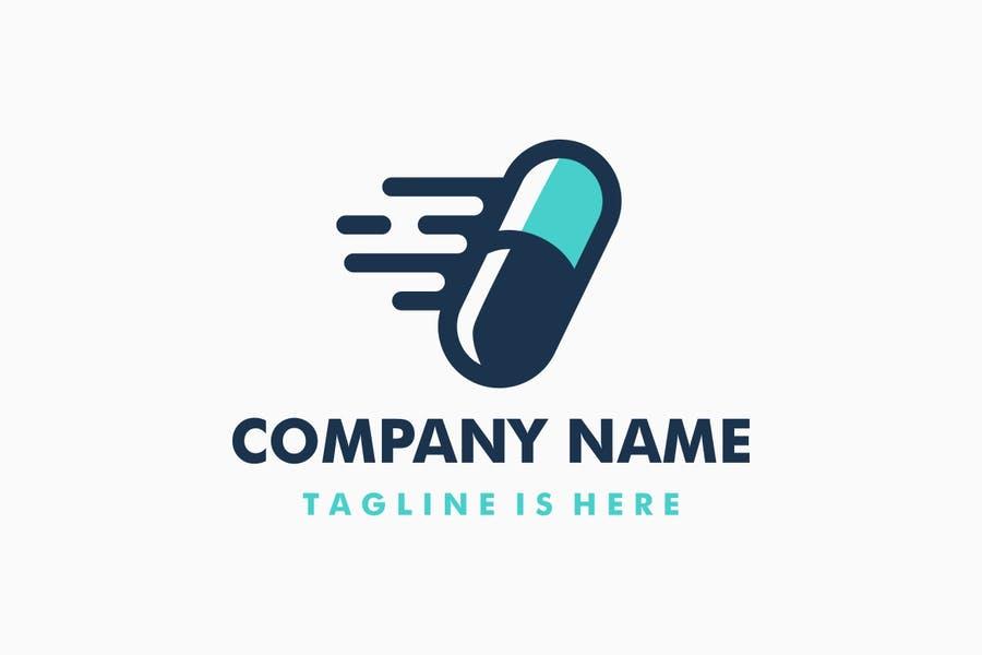 Medicine Delivery Logos