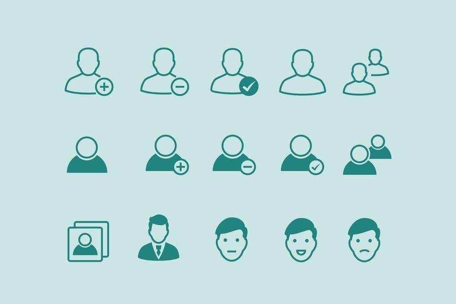 Minimal Profile Icons Set