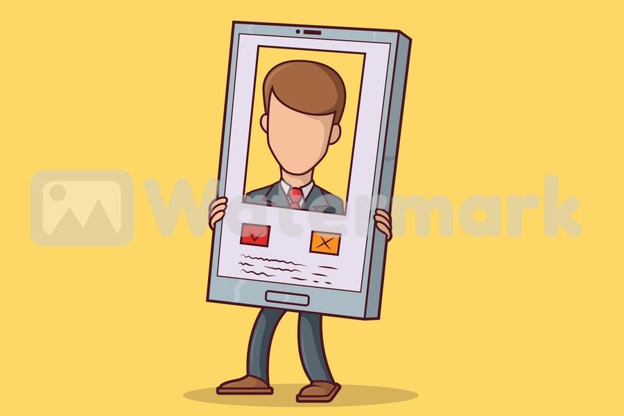 Minimal Profile Pic Illustrations