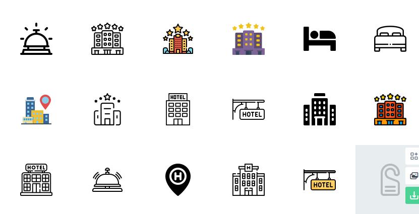 Minmal Vector Icons Set