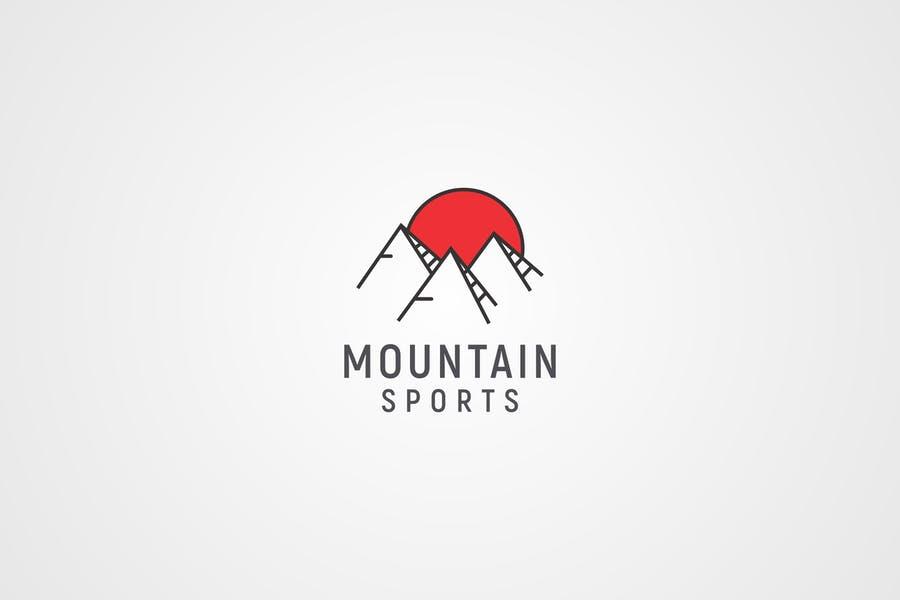 Mountain Sports Logo Design