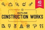 15+ Best Construction Icons Vector Download
