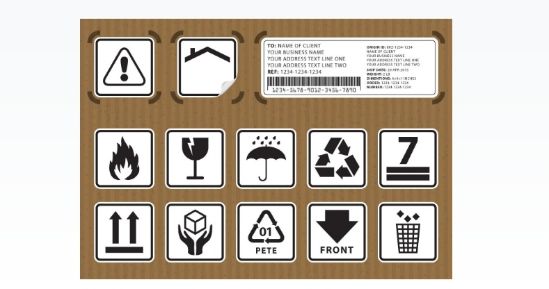 Packaging Symbols Vector Icons