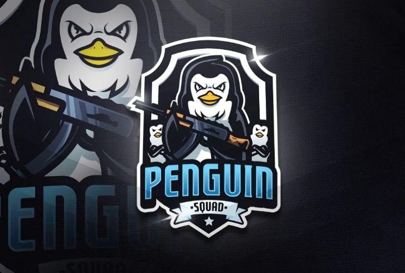 Penguin Mascot Logo Design