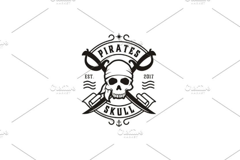 Pirates Style Identity Design