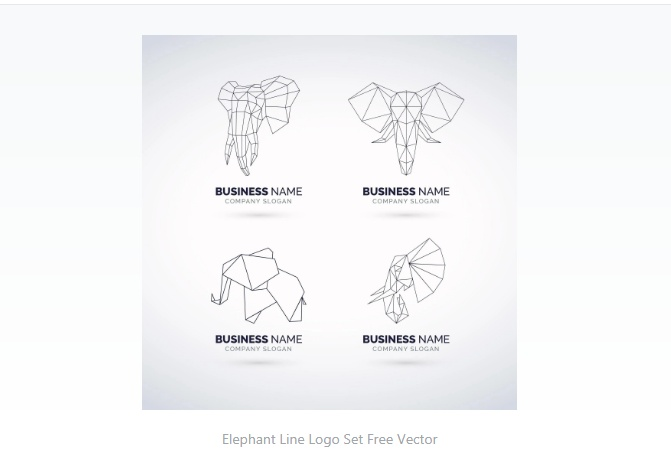 Polygon Style Identity Design