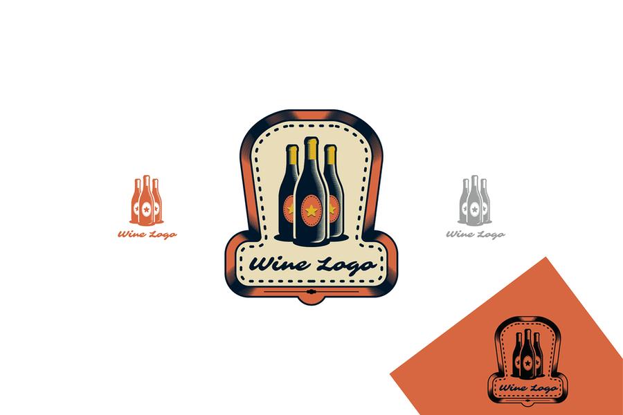 Printable Wine Identity Design