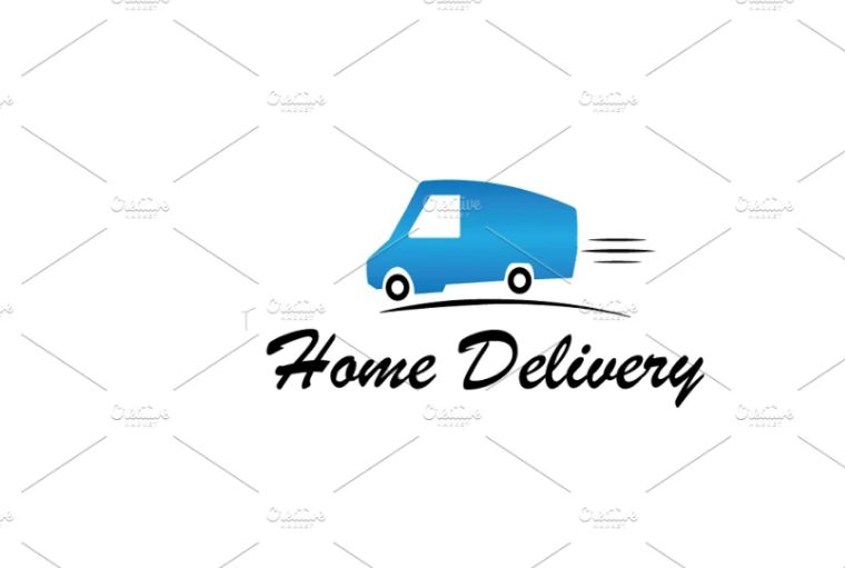 Professional Home Delivery Logo Designs